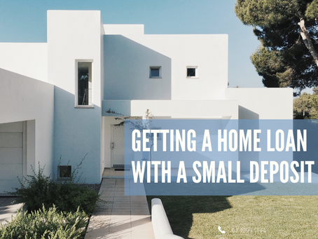 Getting a Home Loan with a Small Deposit