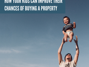 How your kids can improve their chances of buying their first home