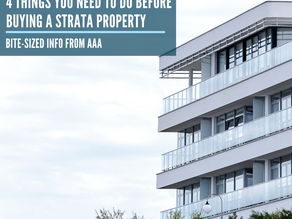 Four Things to Be Aware of When Buying a Strata Property