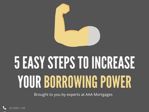 How to Increase Your Borrowing Power