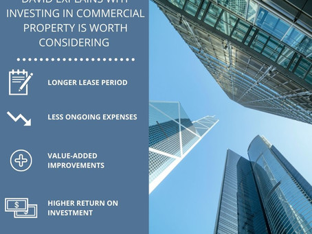 David's Tips for Investing in Commercial Property
