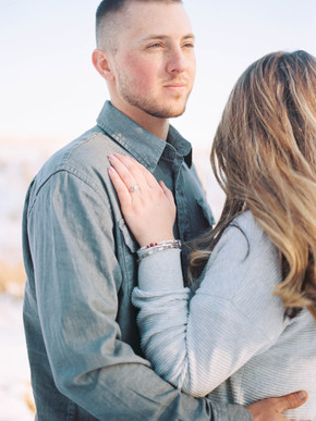 Haley and Brendan - An Engagement Session in Central MA