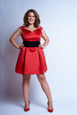 That red dress...
