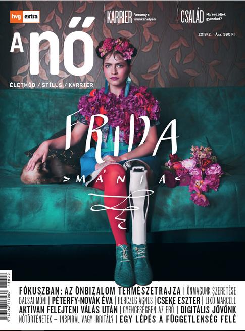 HVG EXTRA A nő (cover)