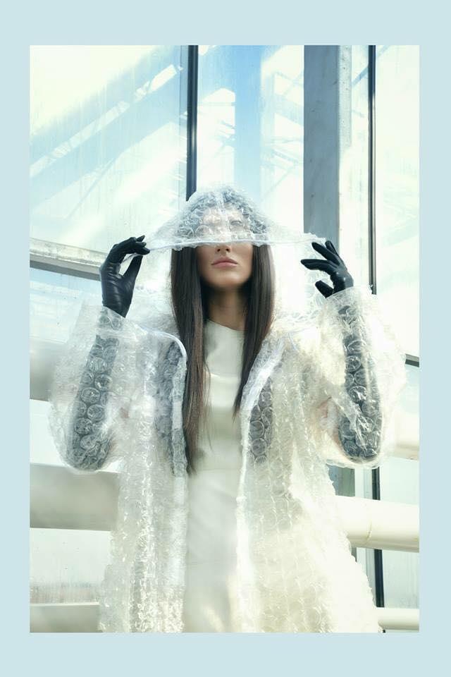 Bubble Coat by Szilas Rita