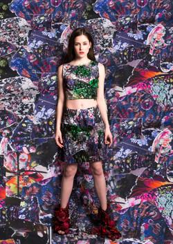 #jkaposistyle skirt&top