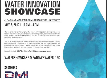 Historic Event: Enormous Success for the Israel-Texas Water Innovation Showcase