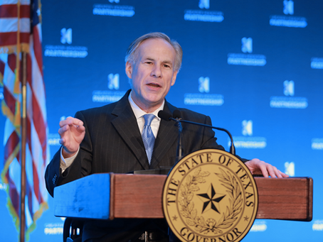 Texas Governor Abbott Celebrates Israel's 70th Anniversary in Houston!