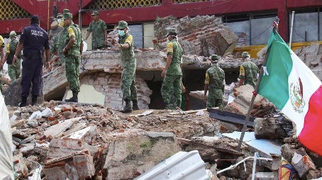 Israel Tech Firm Aiding Mexico Find Victims of the Recent Earthquakes