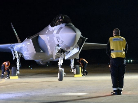 First F-35 Fighter Jets Arrived in Israel