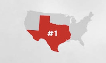 Texas Ranks #1 Again for Best Business Environment in the U.S.!