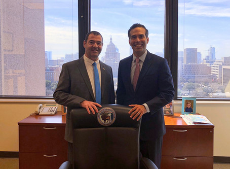 Israel General Consul to the Southwest U.S. Meets with Texas Leaders!
