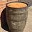 Thumbnail: Solid Oak Whole Rustic Barrel with Danish Oiled Top