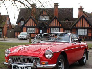 Classic Shows in a Classic Car