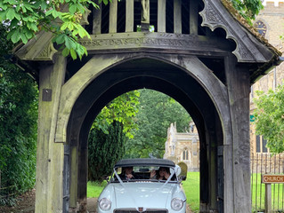 The Perfect Wedding Car....