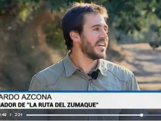 Proyecto Piel y la Ruta del Zumaque en TVE Navarra