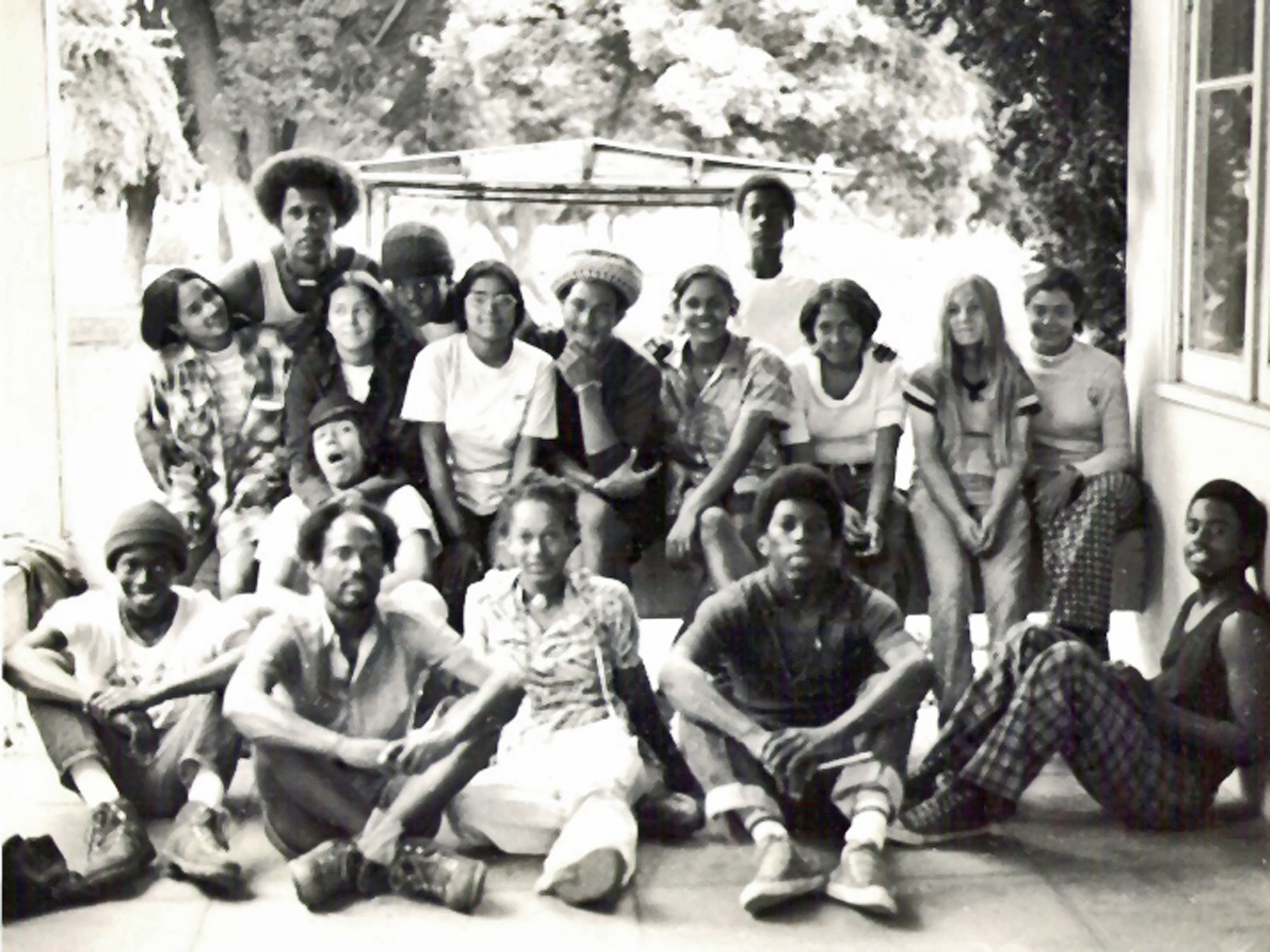 1974 - OBA youth at OBA Headquarters (Pasadena, CA)