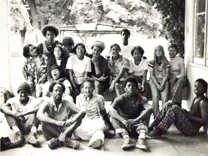1974 - OBA youth at OBA Headquarters (Pasadena, CA)