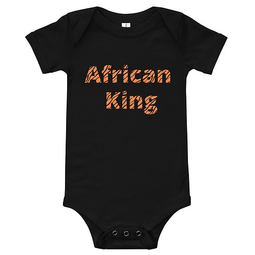 African King Baby Body T-shirt