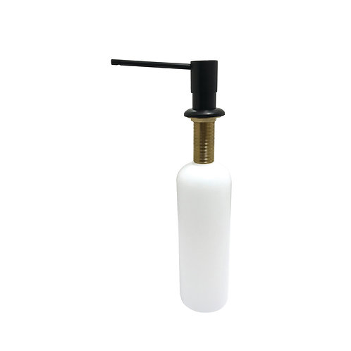 Matte Black Soap Dispenser