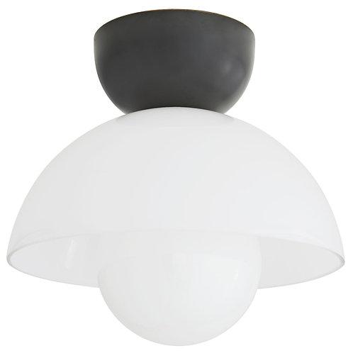 Dome Semi Flush Mount Light