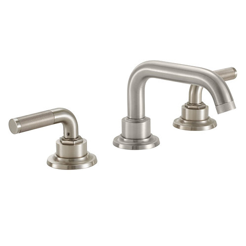 Industrial Widespread High End Faucet Knurled Handle CalFaucet