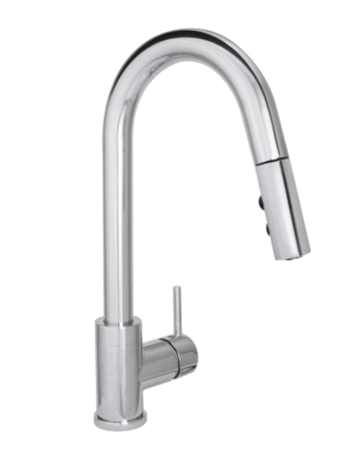 Builder Series Modern Pull-Down Kitchen Faucet