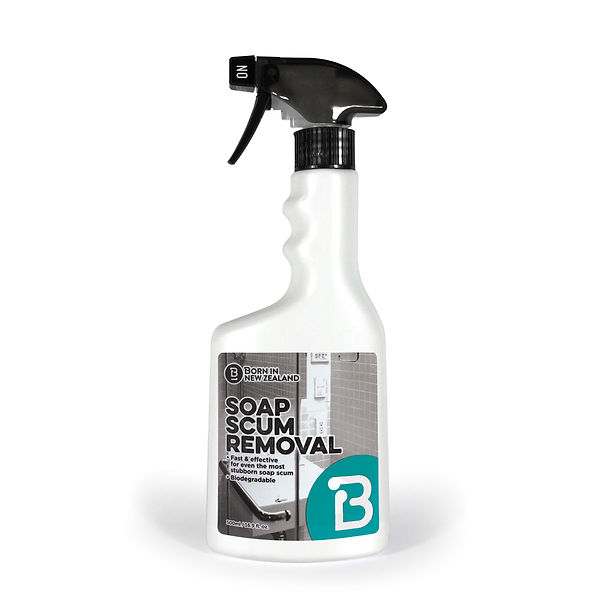 BORN I NEW ZEALAND BIODEGRADABLE SOAP SCUM REMOVAL