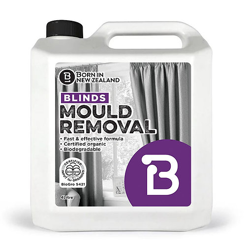 4 Litre - BioGro Certified Blinds Mould Removal