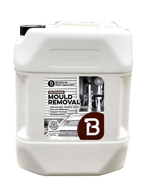 20 Litre - BioGro Certified Outdoor Mould Removal