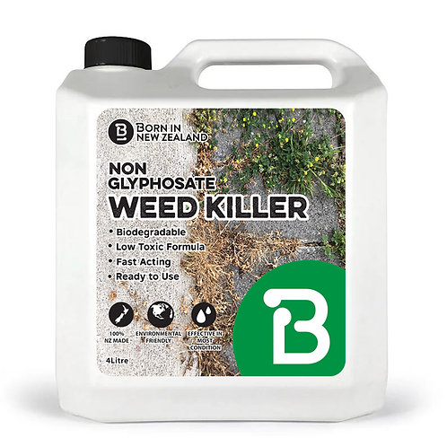 4 Litre - Low Toxic Non-Glyphosate Weed Killer