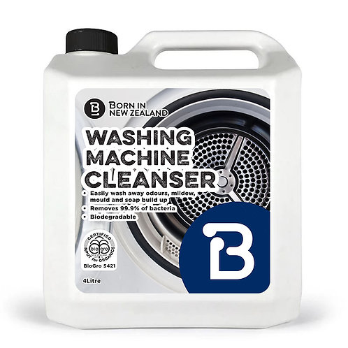 4Litre - BioGro Certified Washing Machine Cleaner