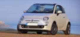 Fiat-500-Cabrio-Mykonos car rental, myko