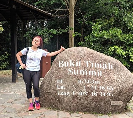 Bukit Timah Summit-Highest point in Singapore