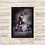 Thumbnail: 1367 - Quadro com moldura Homem de Ferro