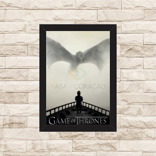 1460 - Quadro com moldura Game of Thrones
