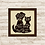 Thumbnail: 8011 - Quadro com moldura Best Friends