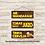 Thumbnail: 30091 - Placa Decorativa - Tomar Juízo