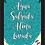 Thumbnail: 6387 - Quadro com Glitter - Água Salgada, Alma Lavada