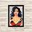 Thumbnail: 1192 - Quadro com moldura Mulher Maravilha