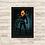 Thumbnail: 1358 - Quadro com moldura Motoqueiro Fantasma