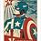 Thumbnail: 1289 - Quadro com moldura Capitão América