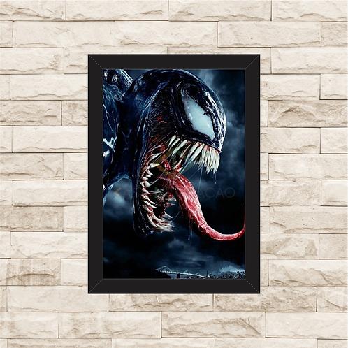 1283 - Quadro com moldura Venom