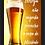 Thumbnail: 6241 - Quadro com moldura Cerveja Não Engorda...