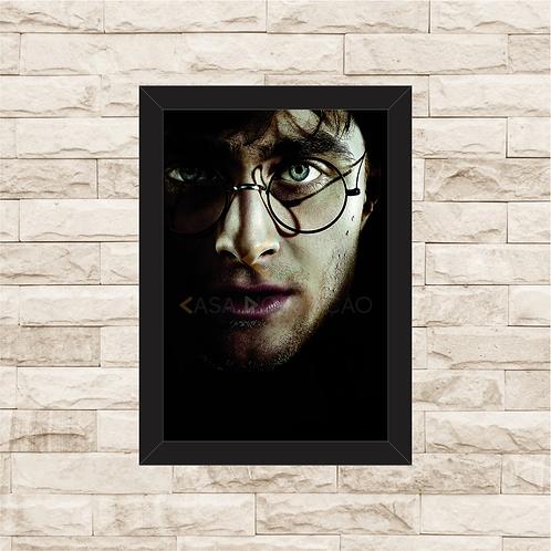 1433 - Quadro com moldura Harry Potter