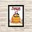 Thumbnail: 1095 - Quadro com moldura Adventure Time