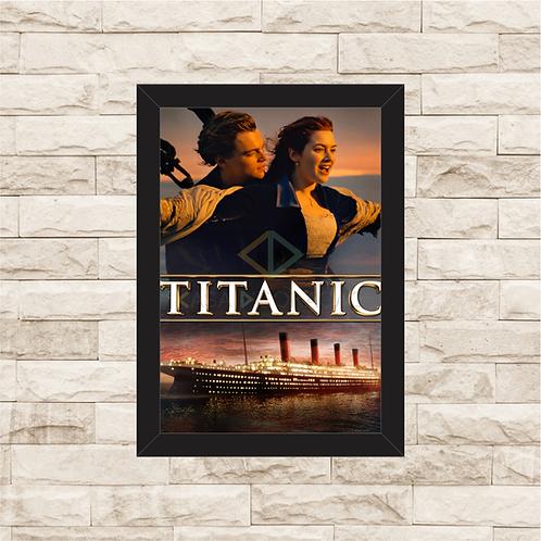 1635 - Quadro com moldura Titanic