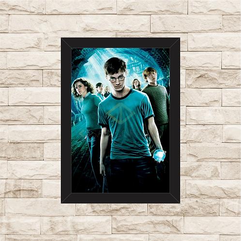 1426 - Quadro com moldura Harry Potter