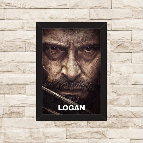 1092 - Quadro com moldura X-men - Logan - Wolverine