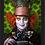 Thumbnail: 1748 - Quadro com moldura Alice no País das Maravilhas - Chapeleiro